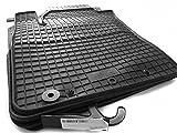 kh Teile 98110 Gummimatten (4-teilig) Gummi Fußmatten 4-teilig schwarz
