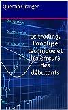 Le trading, l'analyse technique et les erreurs des débutants (French Edition)