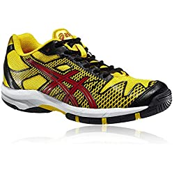 Asics Gel-Solution Velocidad 2GS Zapatos De Interiores B - Amarillo, 39 EU