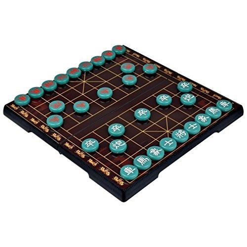 Schach Reise Chinese Chess chinesisches Schachspiel-Schachspiel magnetisch