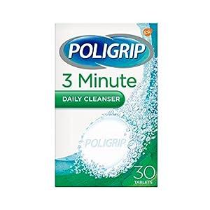 Poligrip Denture 3 Min Ultra Cleansing Tablets – Pack Of 30, 820 g