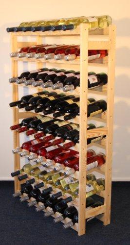 Weinregal Weinregal Holz Flaschenregal für 56 Flaschen NEU!!! RW_1_56