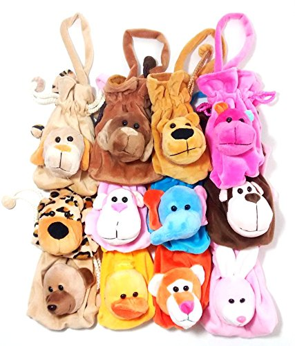 Goappugo Birthday Gifts For Kids Set Of 12 Potli Pouches Bags (Multicolor)