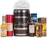 probierFass Whisky Set | Talisker 10 Jahre (0.2l) - Glenfarclas 10 Jahre (0.2l) - Isle of Jura 10 Jahre (0.2l) in einem originellen Fass mit Geschenkverpackung | Whiskey Set | Whisky Geschenk für Männer