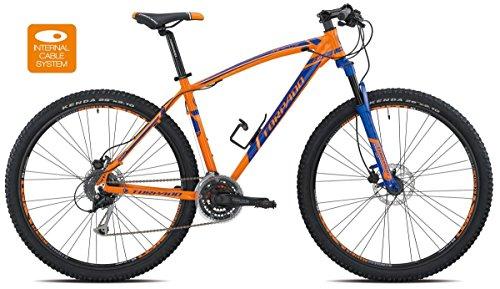 TORPADO BICICLETA MTB MERCURY 29ALU 3X 8V DISCO TALLA 44NARANJA AZUL V17(MTB CON AMORTIGUACION)/BICYCLE MTB MERCURY 29ALU 3X 8S DISC SIZE 44ORANGE BLUE V17(MTB FRONT SUSPENSION)