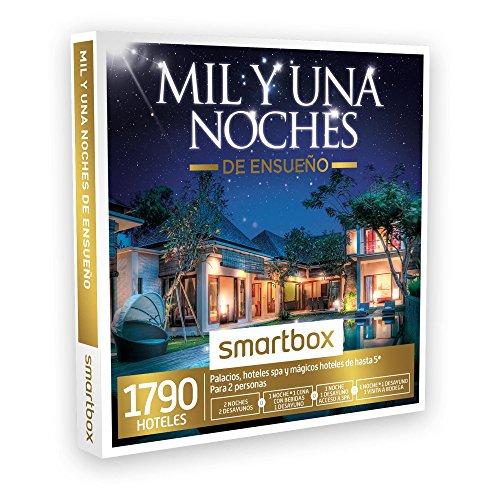SMARTBOX – Caja Regalo – MIL Y UNA NOCHES DE ENSUEÑO – 1790 palacios y hoteles de hasta 5* en España, Andorra, Portugal, Italia y Francia
