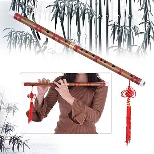 YAMEIJIA Zwei Abschnitte, Abnehmbar, Bitter Bambus, Flöte, F-Ton