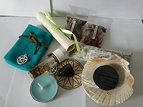 Handcrafted Spell Kit - Health & Healing, Complete Spell In Gift Bag