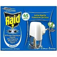 Preisvergleich für Raid Insekten-Stecker zum Schutz vor Mücken und Tigermücken, 3er Pack (3 x 1 Stück)