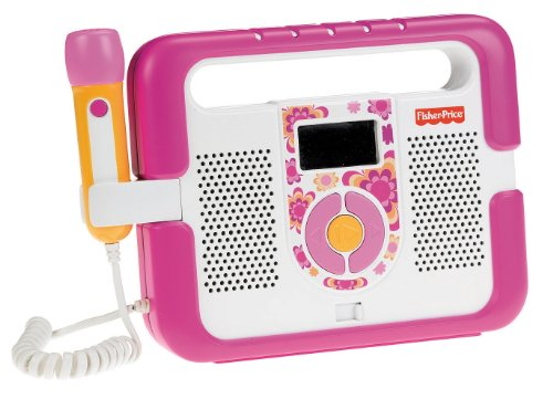 Mattel T5269 - Fisher-Price MP3 Player, rosa (Fisher Price Mp3)