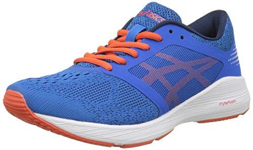 Asics Roadhawk FF, Chaussures de Running Homme Multicolore (Classic Blue/cherry Tomato/insignia Blue)