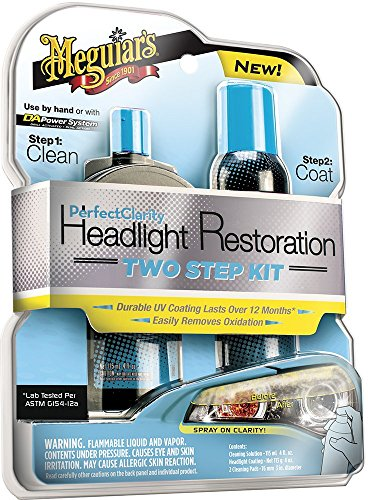 Meguiar's G2000EU Perfect Clarity Headlight Restoration Kit Scheinwerferaufbereitungsset