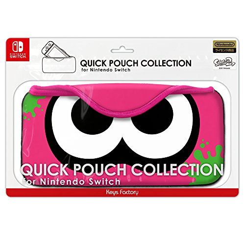 Keys Factory Quick Pouch Collection For NIntendo Switch Splatoon 2 series