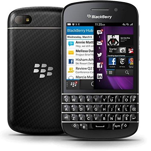 BlackBerry Q10 Smartphone from UK/US (Factory Unlocked) (Black)