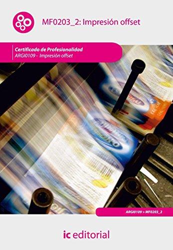 Portada del libro Impresión offset. argi0109 - impresión en ofsset