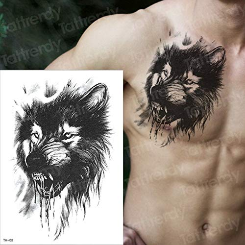 3 Piezas Tatuaje Manga Tatuaje Pegatina Hombres Tatuaje