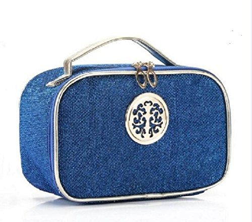 hoyofo-glitter-leather-makeup-bag-travel-toiletry-storage-cosmetic-pouch-for-female-blue