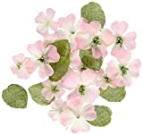"Textured Elements Canvas Dogwood Blossoms 1"""" - 1.5"""" 24/Pkg-Pink"