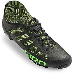 Giro Empire Vr70 Knit MTB, Zapatos de Bicicleta de montaña para Hombre, (Lime/Black 000), 44.5 EU