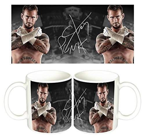 Phillip Jack Brooks CM Punk WWE Tazza Mug
