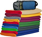 Mikrofaser Handtücher mit farbigen Rand - Fit-Flip Microfaser Handtücher
