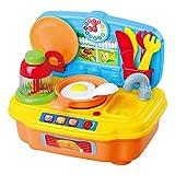 PlayGo ColorBaby 44884 Elektrische Kinderkocher, Mehrfarbig