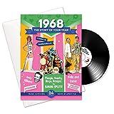 1968 Jubiläum oder Geburtstag Geschenke - 1968 4-in-1 Karten und Geschenk - Story of Ihr Jahr, CD, Musik-Download