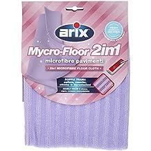 Arix Mycro-Floor 2 in 1 - Paño de microfibra con doble trama para suelos