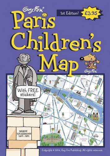 Guy Fox Paris Children's Map