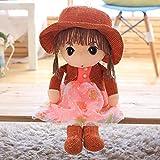 LOVEYUNHJG Plüsch Spielzeug Süße Puppe Puppe Sonnenhut Puppe Stoff Kinder Urlaub...