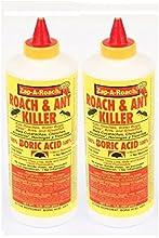 2Pk, Boric acid Ant y Roach Killer Red WT. 1Lb. (454g) cada