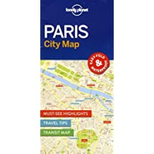Lonely Planet Paris City Map (Travel Guide)