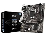 MSI LGA 1151 (300 Series) Intel H310 HDMI SATA 6Gb/s Micro ATX Intel