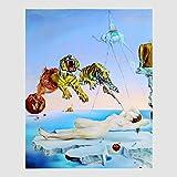 Kunstdruck Poster Bild Salvador Dalì - Rève 50 x 70 cm ohne Rahmen