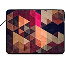 DailyObjects PYT Hrxtl Zippered Sleeve Cover for 14 Inch Laptop/MacBook Color- Multicolor