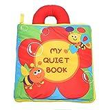"""KMMallbaby Babybuch Stoffbuch Ein Spielzeug """"Zauberbuch"""" Mehrfarbig Mehrfunktional Mittel Zur"""