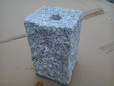 Wasserbrunnen Quellstein Granit Säule NATURSTEIN Brunnen Springbrunnen Wasserspiel von Gartenartikel24 auf Du und dein Garten