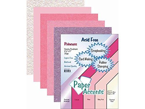 Accent Design Papier Akzente adp8511.1027AD Papier Vielzahl Pack Prinzessin Karton -