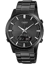 Casio Wave Ceptor Herrenarmbanduhr LCW-M170DB-1AER, Solar und Funkuhr, schwarz, Saphirglas, massives Edelstahlgehäuse und Armband