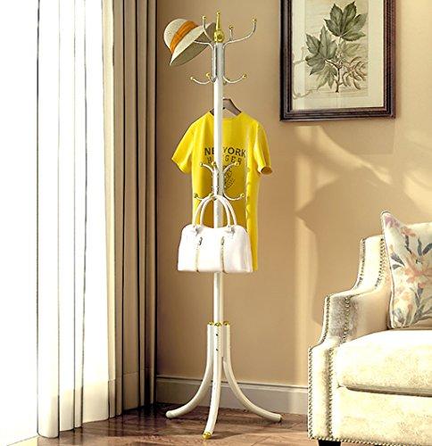 MOJ-YJ Moderne 12 Haken Tall Metal Coat Stand und Hut Display Hall Tree Hanger mit Schutz Anti-Tearing Caps Füße für Home Office Flur Living (größe : - Tree Coat