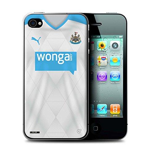 Offiziell Newcastle United FC Hülle / Case für Apple iPhone 4/4S / Pack 29pcs Muster / NUFC Trikot Away 15/16 Kollektion Fußballer