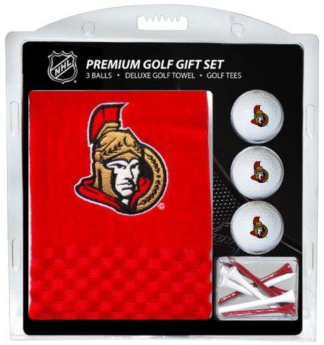 Team Golf NHL Ottawa Senatoren Besticktes Handtuch Geschenk-Set