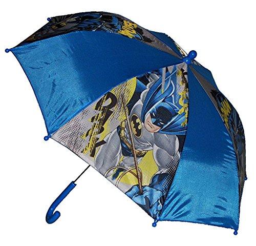 Unbekannt Regenschirm Batman - Kinderschirm 55 cm lang - für Kinder Stockschirm Schirm - Jungen Schirm Wayne Comic Catwoman Action Figur Kinderregenschirm (Groß Wie Ist Catwoman)