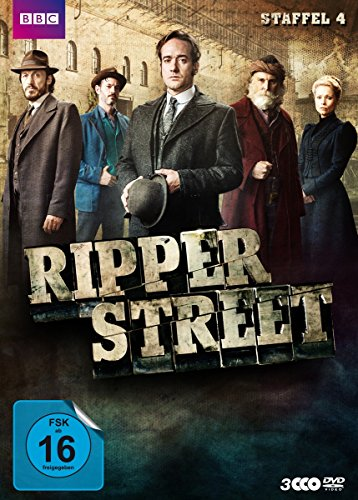 Ripper Street - Staffel 4 (3 DVDs)