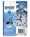 Epson C13T27124022 Cartouche d'encre compatible avec Imprimante Epson Workforce XL Cyan