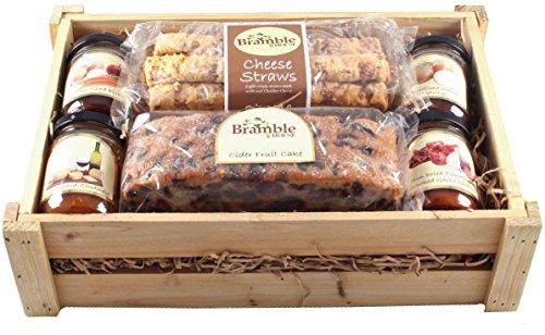 Bramble Foods House Small Cheeseboard Wood Hamper (Pack of 2)