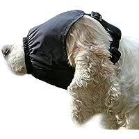 ASOCEA Máscara de Ojo del Perro calmante para Perros medianos Pequeños contra la ansiedad