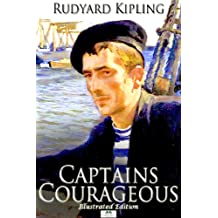 Captains Courageous - Classic Illustrated Edition (English Edition)