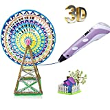 SYGA 3D Pen for Kids and Adults Arts Crafts doodling Model DIY 3D