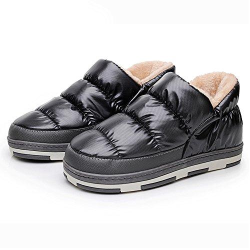 Polliwoo Pantofole da Uomo Invernali caldo scarpe
